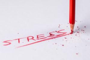 Canva Stress Handwritten Text on White Printer Paper 300x200 - So werden wir mit Stress leichter fertig