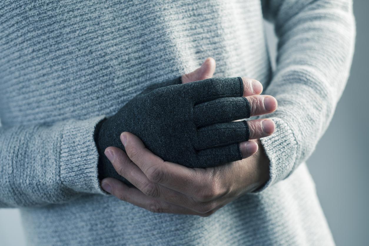 Arthrose-Handschuhe