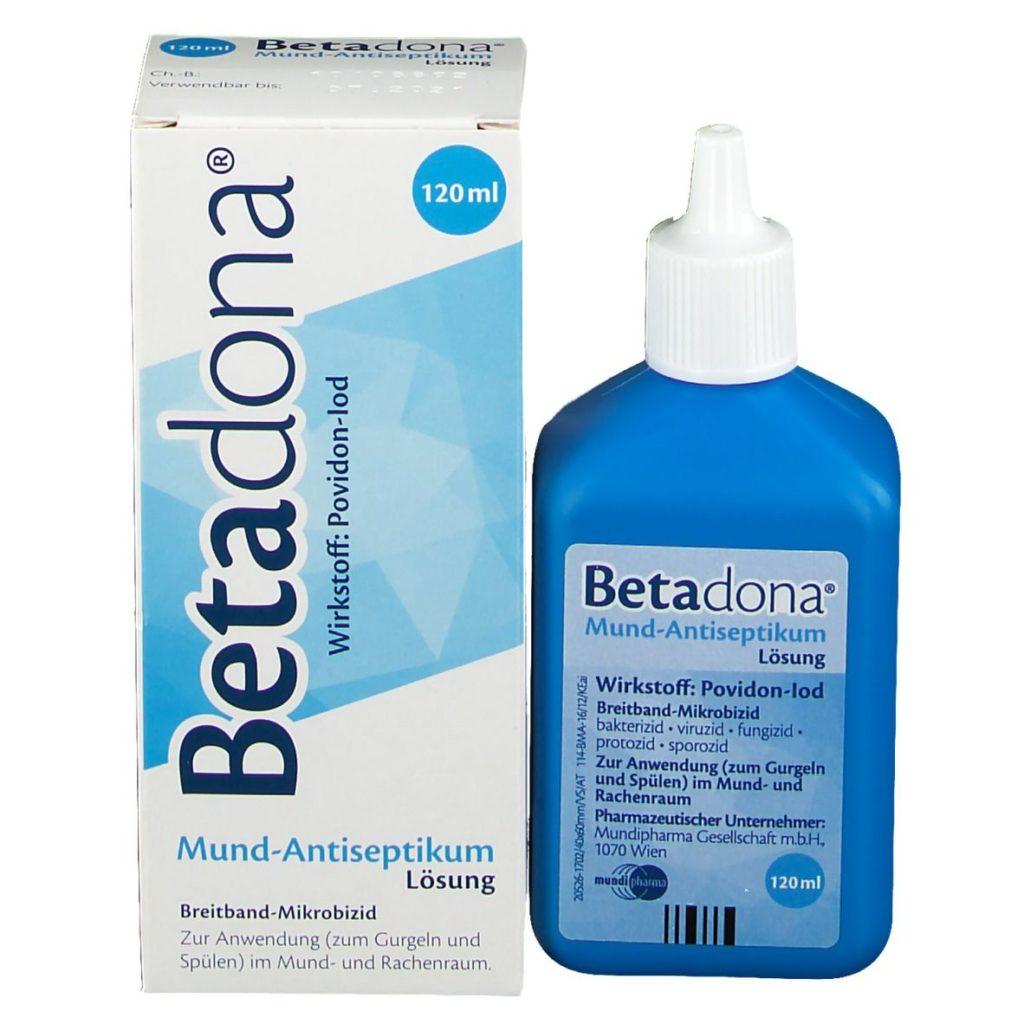 Betadona Mundspülung
