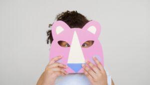 Covid-19 Maske Kinder